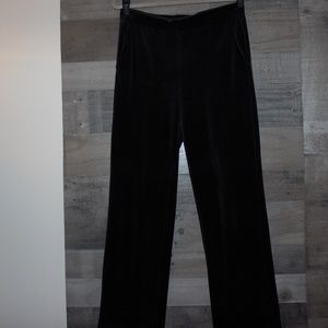 Lauren Ralph Lauren Black Pants Plush Small